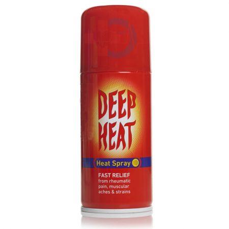 اسپری گرم کننده عضلات DEEP HEAT