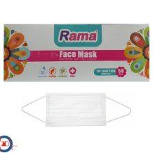 ماسک ۳ لایه کشی راما بسته 50 عددی