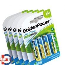 باتری قلمی گلدن پاور Alkaline پک 4 تایی